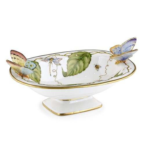 Anna Weatherley Oval Dish with Butterflies