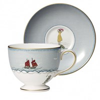 Wedgwood Sailor's Farewell Teacup & Saucer