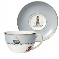 Wedgwood Sailor's Farewell Breakfast Cup & Saucer