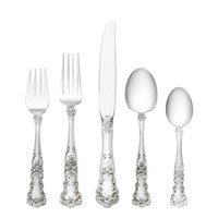 Gorham Buttercup Sterling Silver 5 Piece Dinner Setting