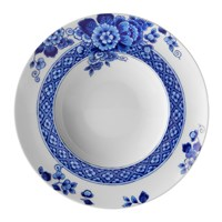 Vista Alegre Blue Ming Rim Soup Bowl