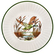 Ceramic Wicker Border Chargers / Presentation Plates