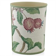 Arboretum Plum Wastebasket & Tissue Box Cover