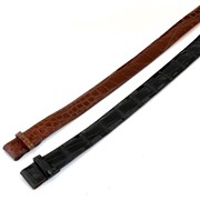Chestnut Alligator Belt Strap