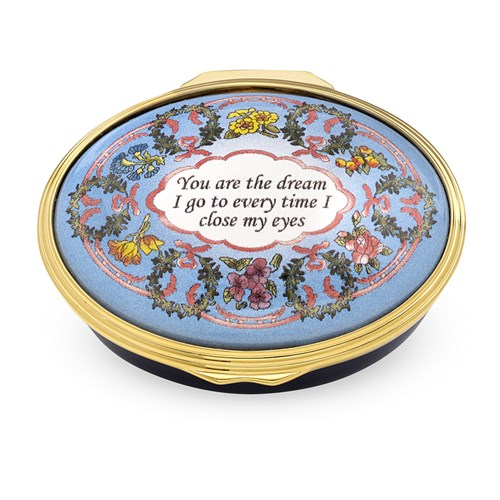 Halcyon Days You Are the Dream Enamel Box