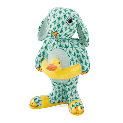Herend Beach Bunny, Green
