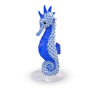Herend Seahorse on Scallop Shell