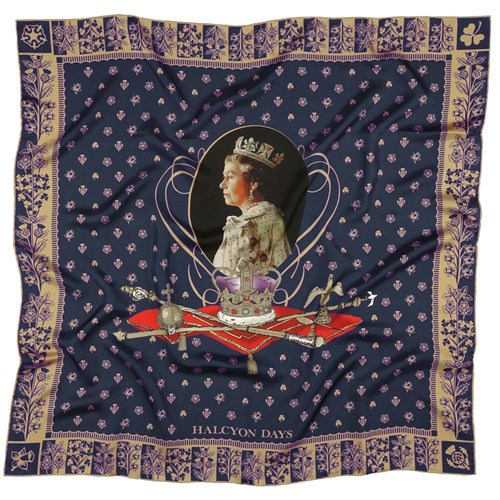 Halcyon Days The Longest Reigning Silk Scarf
