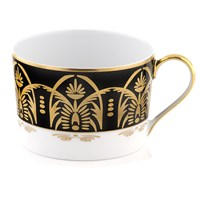 Royal Limoges Oasis Black & Gold Tea Cup