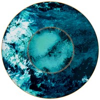 Haviland Ocean Blue Charger / Presentation Plate