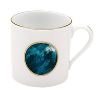 Haviland Ocean Blue Mug, Mini