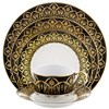 Royal Limoges Oasis Black & Gold