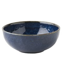 Juliska Puro Dappled Cobalt Cereal / Ice Cream Bowl