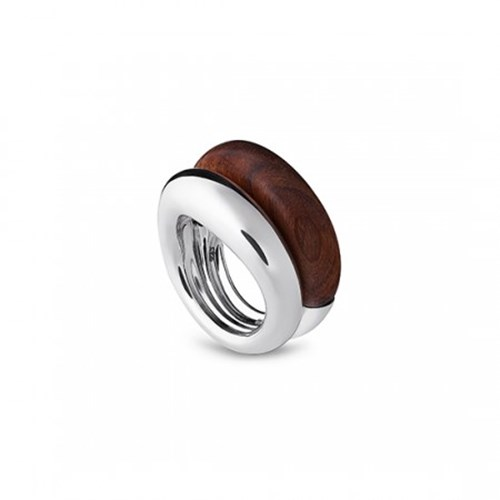 Christofle Idole de Christofle Rosewood & Sterling Silver Ring