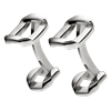 Christofle Pliage Sterling Silver Cufflinks