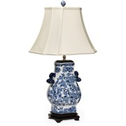 Blue Tang Porcelain Lamp