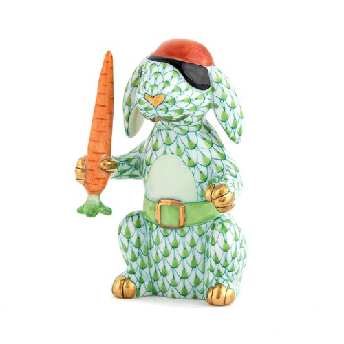 Herend Pirate Bunny, Key Lime