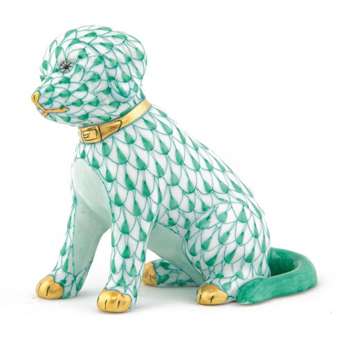 Herend Good Dog, Green