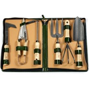 Calf Leather Gardening Kit with Shears