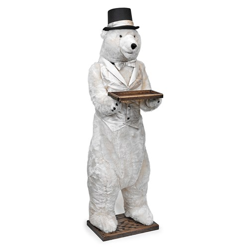 Christmas Celebration Polar Bear Butler