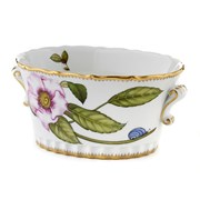 Anna Weatherley Peony Pink Oval Cachepot