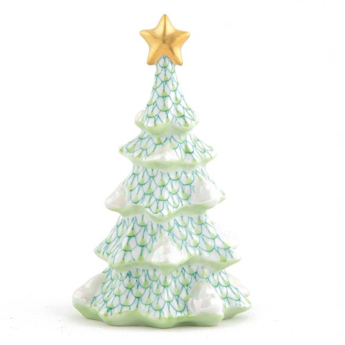 Herend Simple Christmas Tree, Key Lime