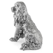 Sterling Silver Large King Charles Spaniel