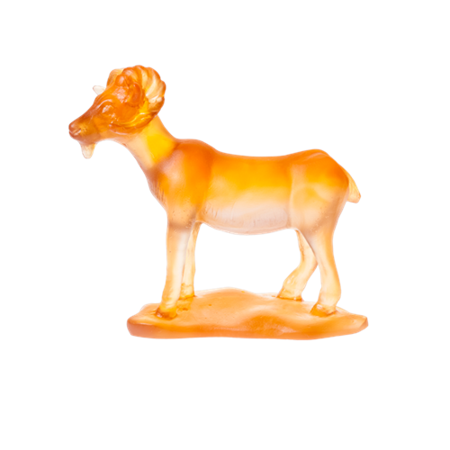 Daum Crystal Horoscope Goat