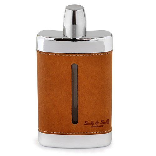 Calf Leather Flask, Cox Orange