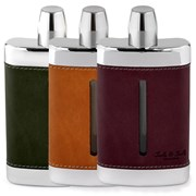 Calf Leather Flasks