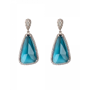 Daum Crystal Éclat de Daum Earrings, Celadon Blue