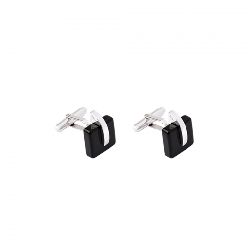 Daum Crystal Eclipse Cufflinks