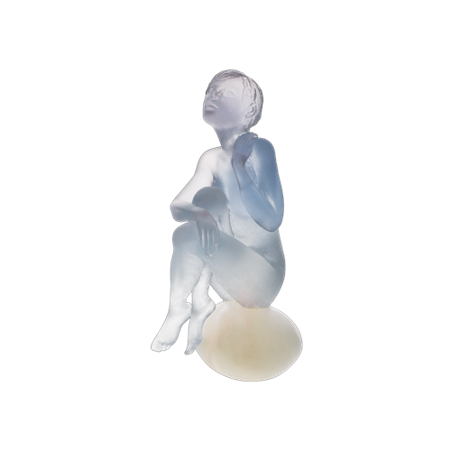 Daum Crystal Aphrodite by Marie-Paule Deville Chabrolle, Limited Edition