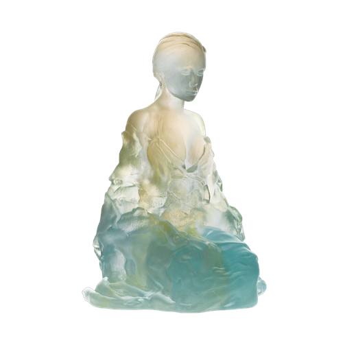 Daum Crystal Athena by Marie-Paule Deville Chabrolle, Limited Edition