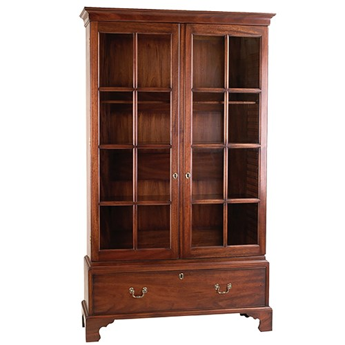 Mahogany Chippendale Bookcase