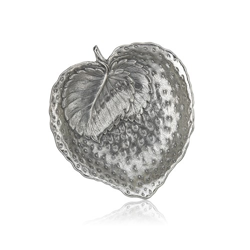 Buccellati Strawberry Sterling Silver Dish, Small