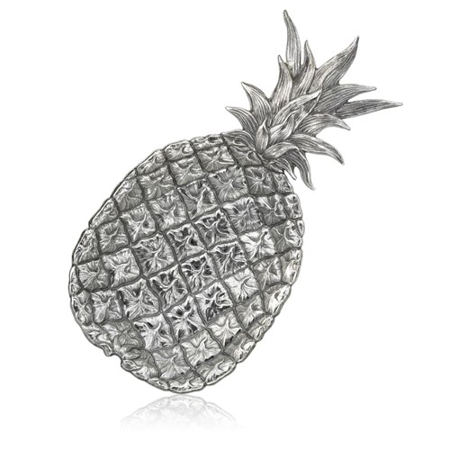 Buccellati Pineapple Sterling Silver Dish, Extra Large