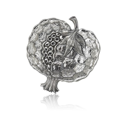 Buccellati Pomegranate Sterling Silver Dish, Small