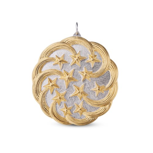 Buccellati Stelle Cadenti Sterling Silver Christmas Ornament