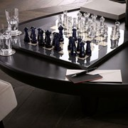 Baccarat Crystal Chess Set