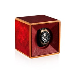 Polished Wood Watch Winder