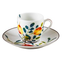Raynaud Harmonia Coffee Saucer, White
