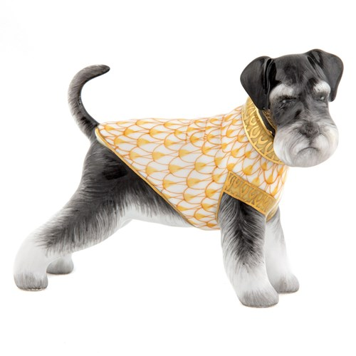Herend Schnauzer Butterscotch