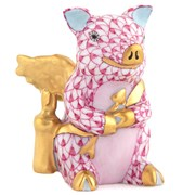 Herend Cupid Piggy