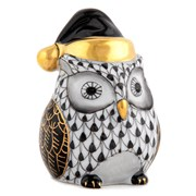 Herend Winter Owl