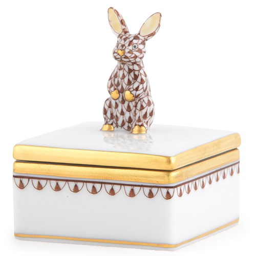 Herend Bunny Box Chocolate