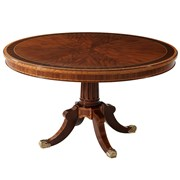 Mahogany Trenton Center Dining Table
