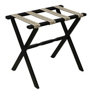 Greek Key Luggage Racks