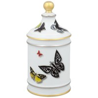 Vista Alegre Butterfly Parade Covered Sugar Bowl