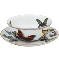 Vista Alegre Butterfly Parade Consomme Cup & Saucer